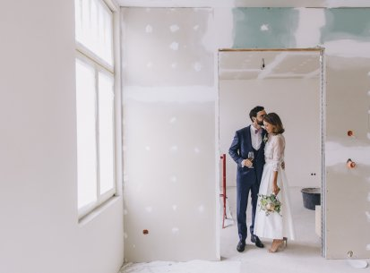 Für mehr Baustellenromantik. Sarah ♡ Andy